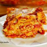 Przepis na Lasagne ( lazania) bez sosu beszamelowego