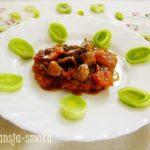 Placki po węgiersku pyszne danie obiadowe