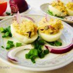 Smakowite jajka faszerowane wędzoną rybą