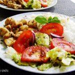 Pomysł na obiad grillowany kurczak z ryżem