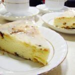 sernik bez ciasta z cytrynowym lukrem