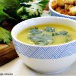 Kremowa zupa z fasolki szparagowej