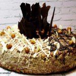 Tort z orzechów laskowych z masą orzechową