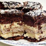 ciasto Marysieńka czekoladowe z orzechami