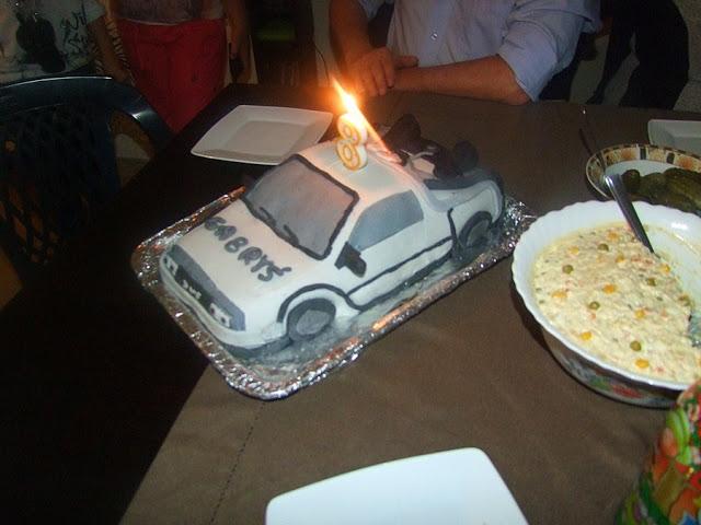 auto z ciasta