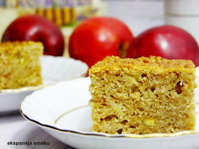 ciasto marchewkowe z jabłkami